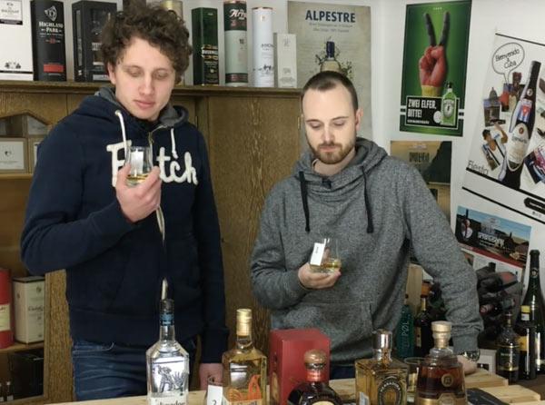 Tequila Unterschiede und Reifung