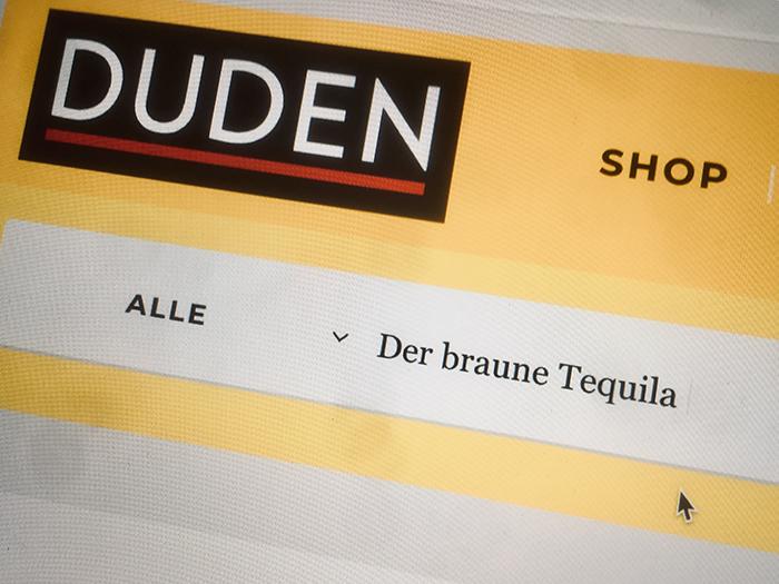 DUDEN | Suchen | Tequila