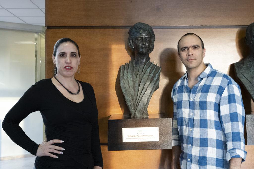 Firmenmitinhaberin María Elisa Portilla Romo und Alejandro Cuevas Romo