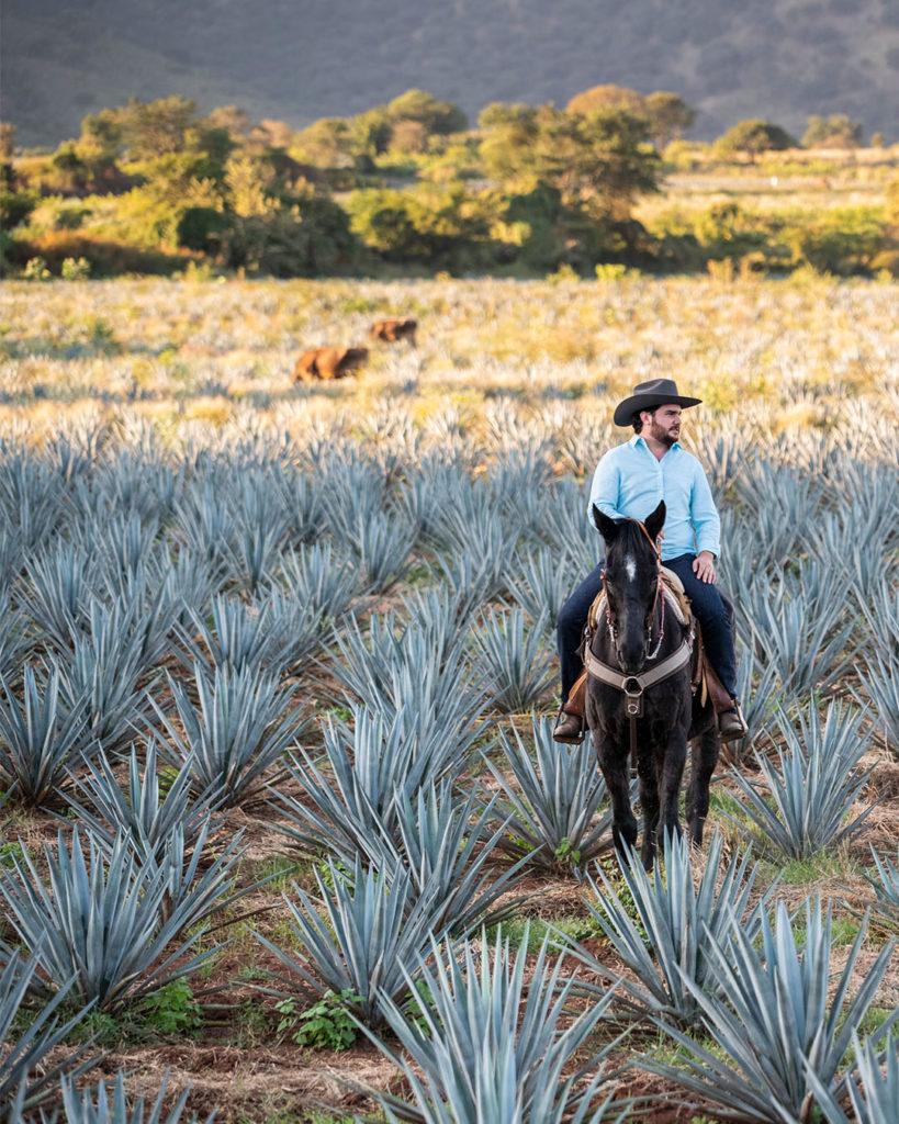 Bruno Barba, Tequila Produzent in 5. Generation von Tequila Huizache.