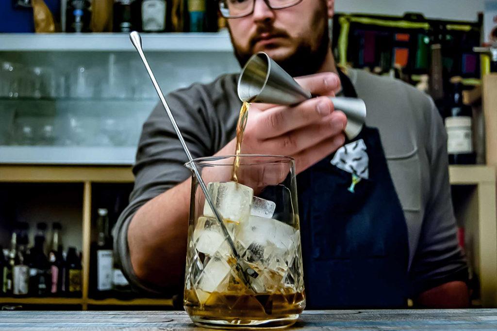 Durch die anspruchsvollen Fotos werden die Drinks optimal in Szene gesetzt.