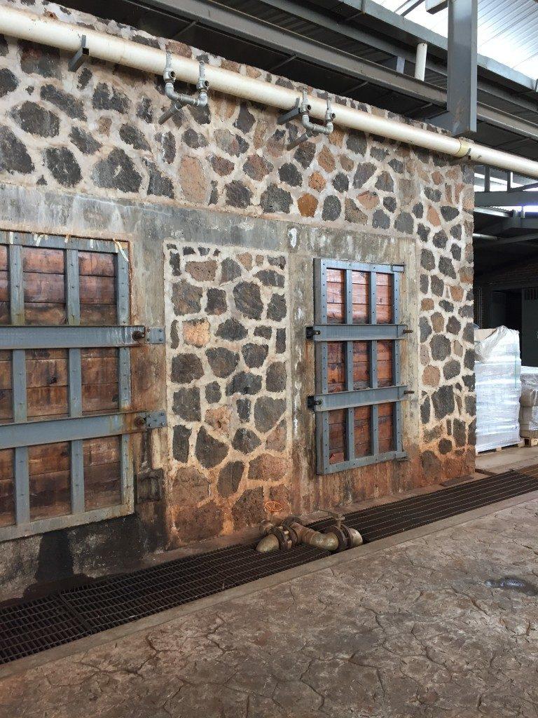 Steinhornöfen kochen die Agaven 22 Stunden lang