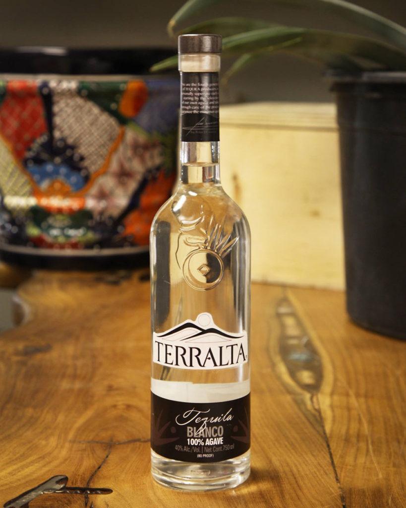 Der Tequila Terralta Blanco.