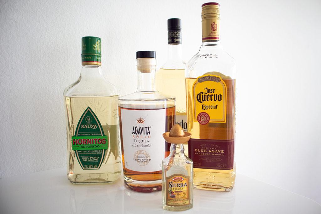 Sauza Hornitos, Agavita Añejo, Sierra Reposado, El Jimador Reposado und der Especial von Jose Cuervo - was ist wirklich drin?