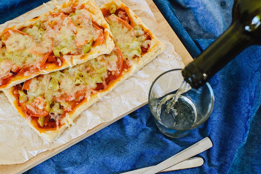 Wein zu Pasta oder Pizza. Aber auch Tequila schätzt der Italiener offensichtlich sehr.