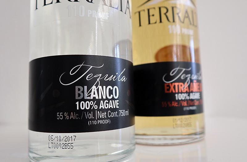Mehr Power geht nicht! 55% Terralta Tequila.