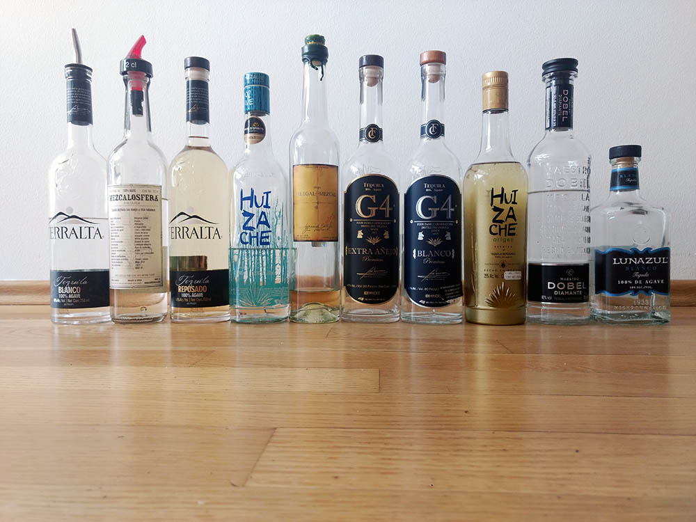Top 10 der besten Tequila und Mezcal 2019.