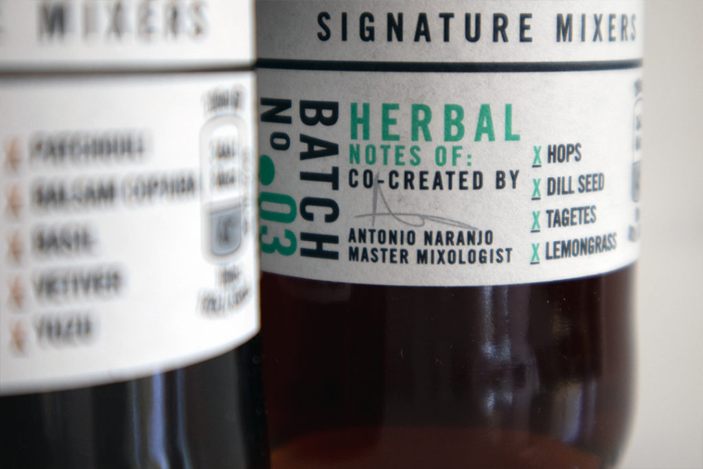 Signature Mixer: Herbal Notes