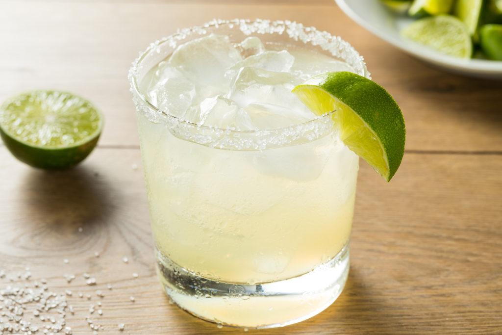 """Die 'No(r)-Cal Margarita"""" - eine kalorienreduzierte Variante."""