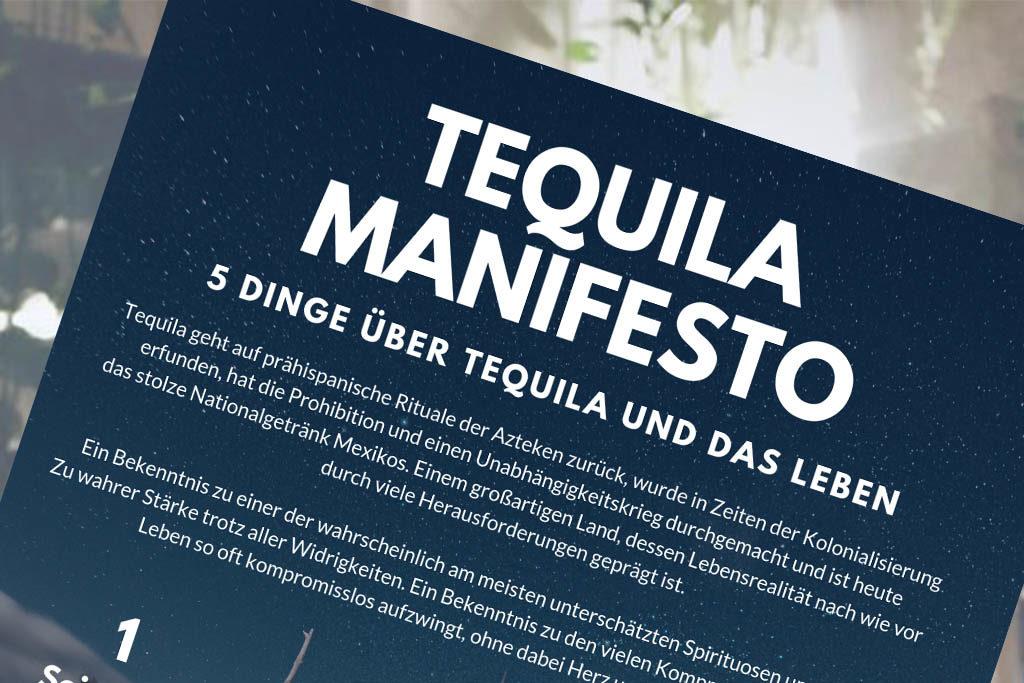 Die 5 Thesen über Tequila und das Leben vom Tequiladealer