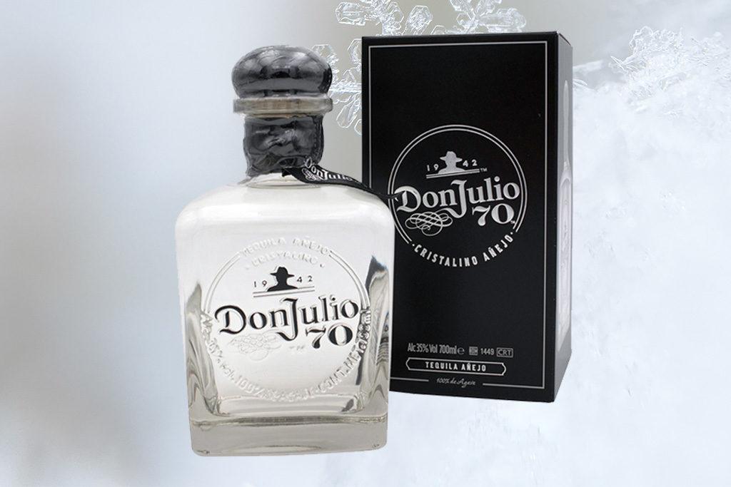 Der Crossover Tequila: Don Julio 70th Anniversary Añejo. Die Geschenkidee für Weihnachten