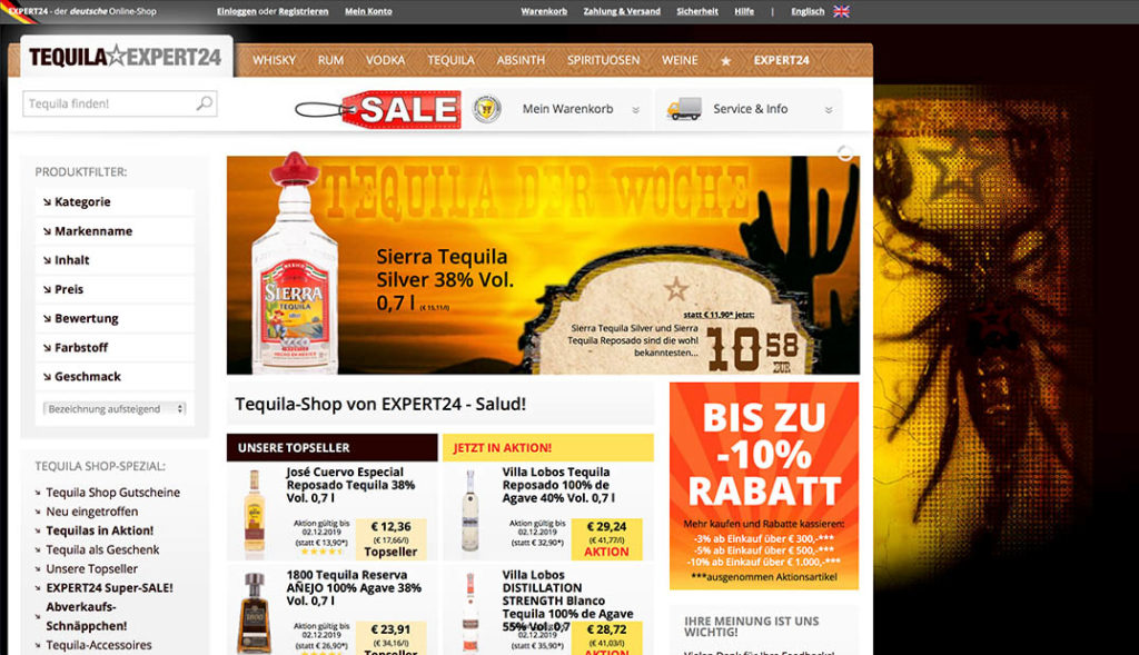 Expert24 - Tequila Shop