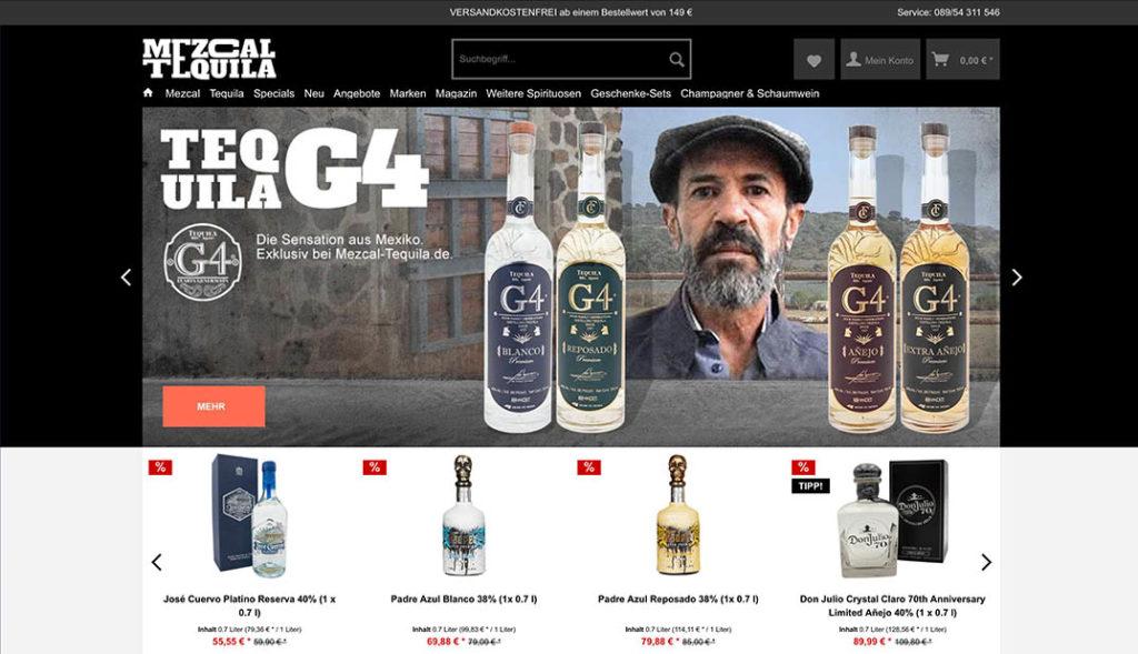 Mezcal-Tequila.de Der Online Shop
