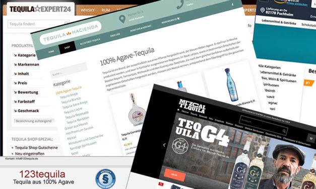 Tequila Online Shops im Vergleich.