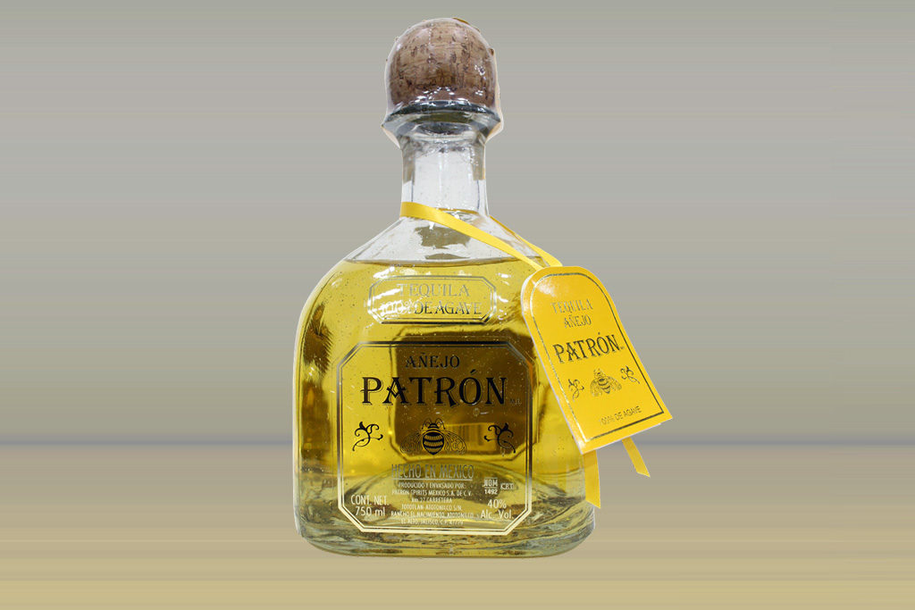 Tequila Patron Anejo mit 40% Volumenprozent