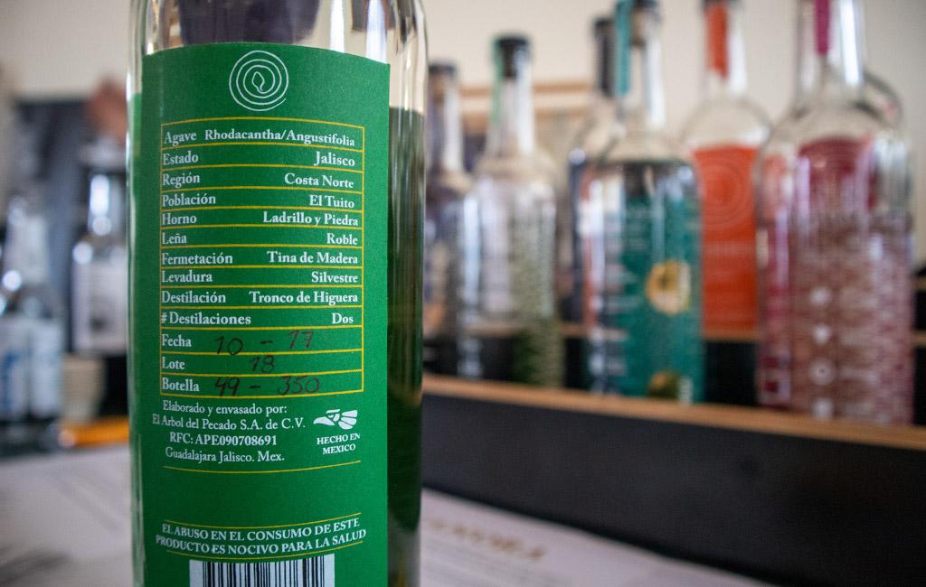 Raicilla Mezcal Tequila. LA VENENOSA Raicilla Costa de Jalisco
