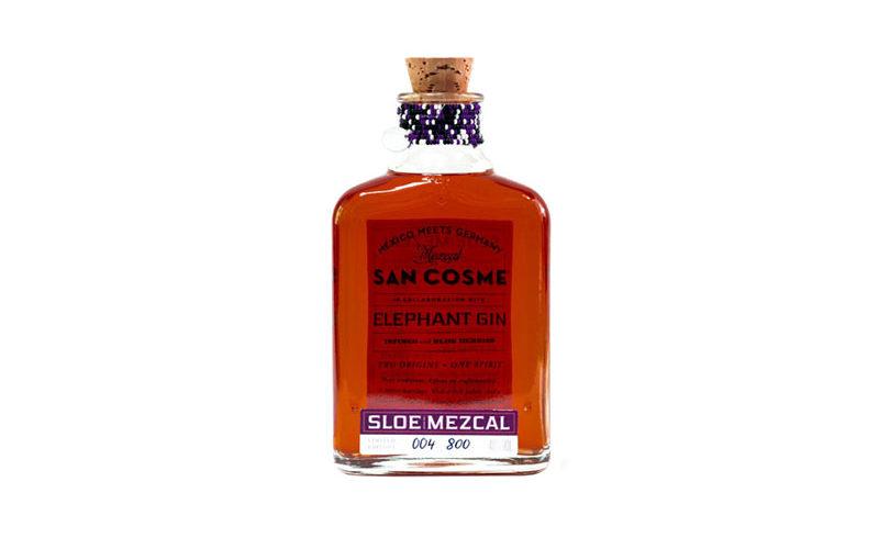 Sloe Mezcal | Elephant Gin & Mezcal San Cosme