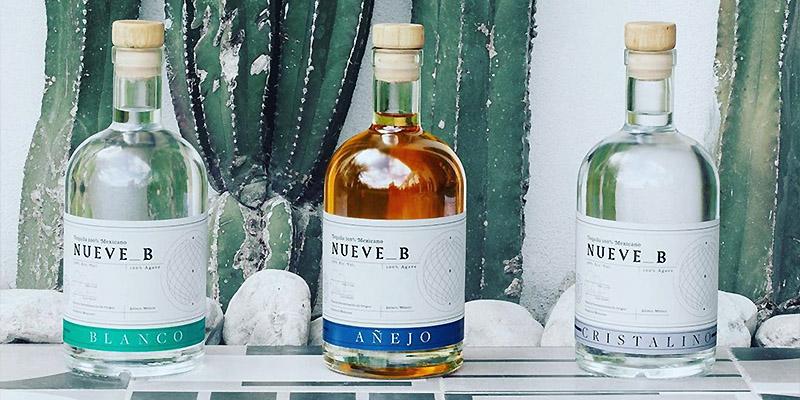 Tequila Nueve B - Blanco, Anejo und Cristalino