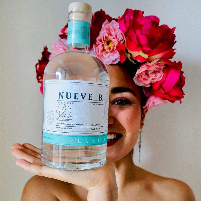 Tequila Blanco Nueve B 700ml