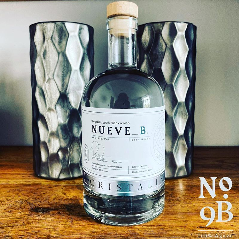 Tequila Nueve B - Cristalino / Crystal Tequila